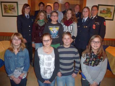 Foto zur Meldung: Generalversammlung bei der FW Tresdorf