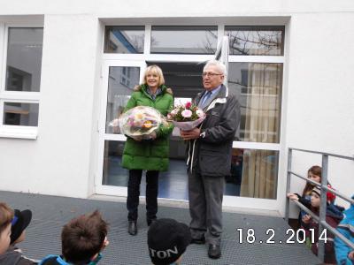 Foto zur Meldung: Auszeichnung zur Lehrerin des Jahres 2013