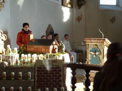 """Foto zur Meldung: """"Wir werden lebende Steine der Kirche"""""""