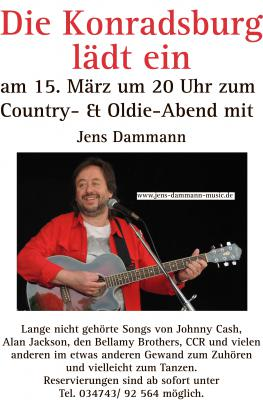 Foto zu Meldung: Country- & Oldie-Music im lockeren Mix