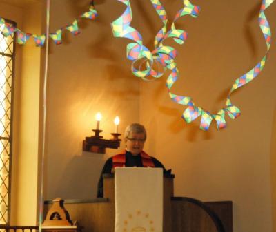 Vorschaubild zur Meldung: Büttenpredigt in Rosefeld - Gottesdienst einmal anders