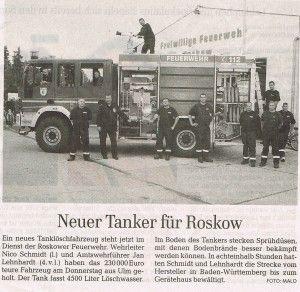 Foto zu Meldung: Neuer Tanker für Roskow