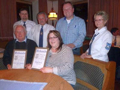 Foto zu Meldung: 11 neue Mitglieder und eine Reihe von treuen Handwerkern geehrt