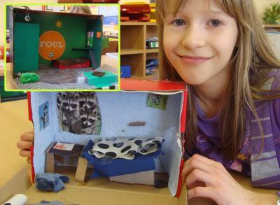 Foto zu Meldung: Traumzimmer im WAT-Unterricht gebaut
