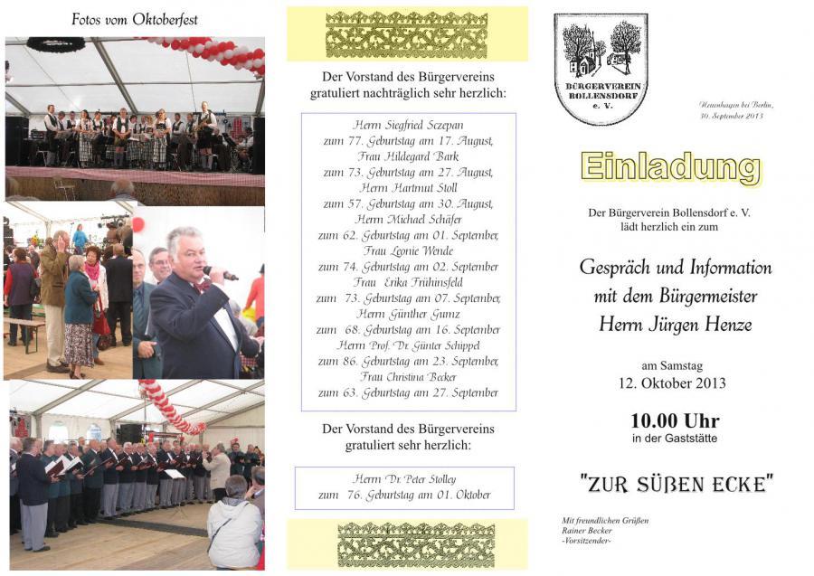 neuenhagen-bei-berlin.de - einladung zum gespräch und information, Einladung
