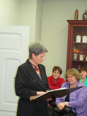 Foto zu Meldung: Literatur-Café: Die kleine Stadt, die sie liebte