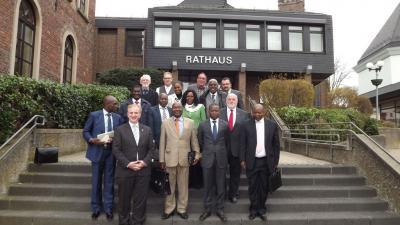 Foto zu Meldung: Delegation aus Angola und Mosambik besuchten die VG Rheinböllen