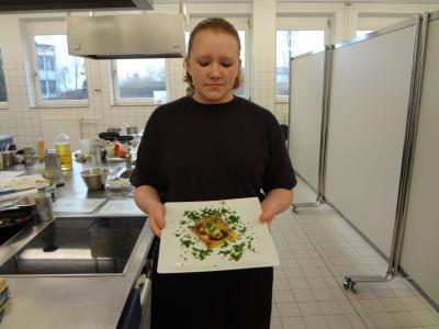 Foto zur Meldung: Kochstars an der Philipp-Hackert-Oberschule