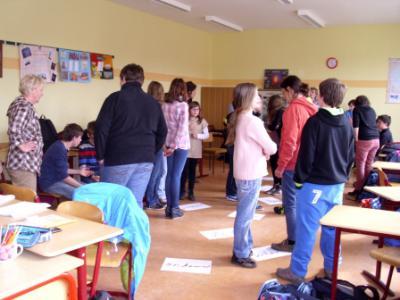 Foto zur Meldung: Die Gestaltung der Schule geht in die nächste Runde