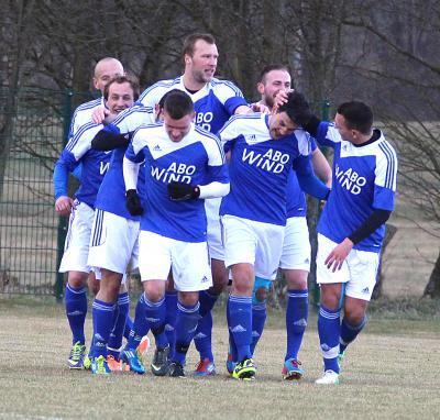 Foto zu Meldung: Landesliga: FC Vorwärts - 1. FC Trogen 4:0 (1:0)