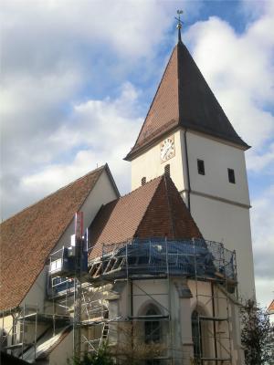 Foto zur Meldung: Spende zugunsten der Dachsanierung