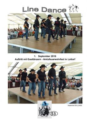 Vorschaubild zur Meldung: TSV Selk Sportangebot: Line Dance