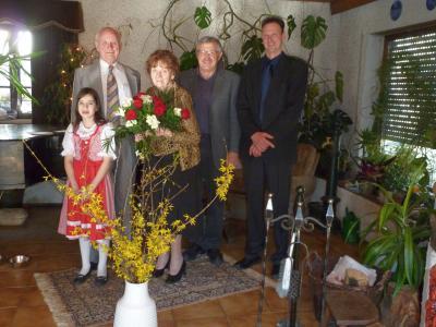Foto zu Meldung: Vera und Günter-Otto Voigt feierten Goldene Hochzeit