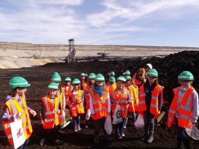 Vorschaubild zur Meldung: Besuch im Tagebau Inden