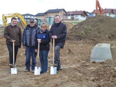 Foto zu Meldung: In der Gemeinde Prackenbach wird ein riesiges Wohnbaugebiet erschlossen