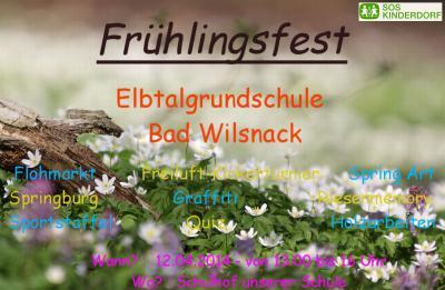 Foto zur Meldung: Frühlingsfest an der Elbtalgrundschule Bad Wilsnack