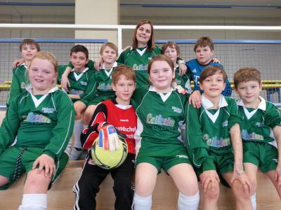 Foto zur Meldung: Fußballteam wird 6. Sieger im Kreisfinale