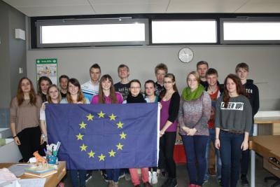 """Foto zur Meldung: """"Schüler für Schüler""""- Tag der Europäischen Union an der IGS Grünthal Stralsund"""