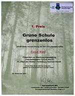 """Foto zu Meldung: 1. Preis im Video-Wettbewerb """"Focus Wald"""""""