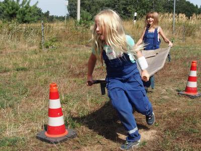 Foto zur Meldung: Jugendfeuerwehrzeltlager des Amtes Niemegk