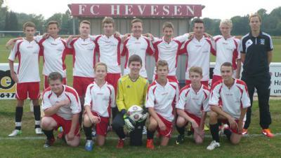 Foto zur Meldung: B-Jugend erreicht Halbfinale des Kreispokals