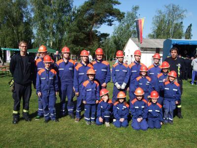 Foto zur Meldung: Erfolgreiche Teilnahme am Amtsausscheid des Amtes Niemegk 2012