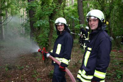 Foto zur Meldung: Einsatzübung Gemeinde Planetal - Einsatzbericht 17/2012