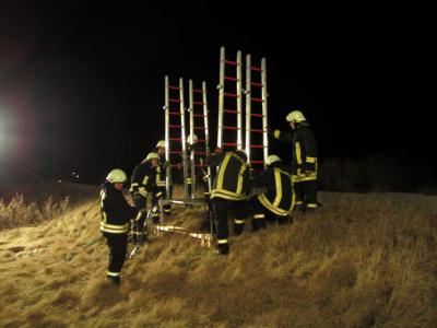 Foto zur Meldung: Ausbildung - Rettungsplattform