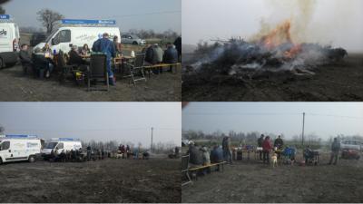 Vorschaubild zur Meldung: Frühjahrsfeuer mit Grillen