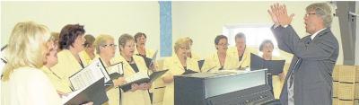 Foto zur Meldung: Frauenchor:  Chöre begeistern das Publikum