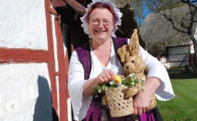 Museumsführerin Kerstin Zimmermann freut sich auf ihre Gäste. Foto: Wolfried Pätzold