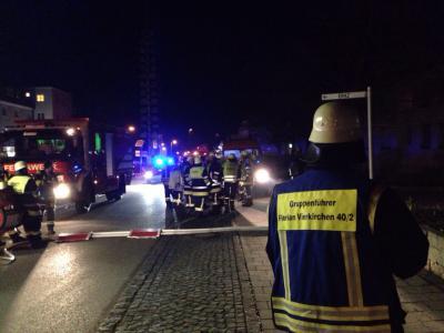 Foto zur Meldung: Einsatzbericht - Chlorgasgeruch in Wohngruppe im Franziskuswerk Schönbrunn