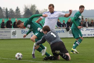 Foto zu Meldung: Landesliga: FC Vorwärts - TSV Neudrossenfeld 1:3 (0:2)