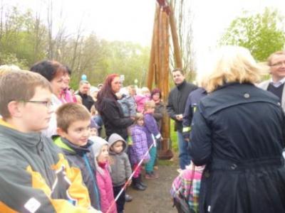 Foto zur Meldung: Saisoneröffnung Abenteuerspielplatz 2014