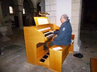 Foto zur Meldung: Neue Orgel in der Stiftskirche Frose