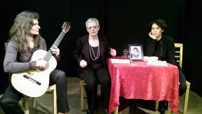 Foto zur Meldung: Lesung mit Musik am 27.4.: Es gibt noch Plätze!