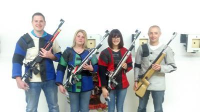 Foto zur Meldung: Luftgewehr-Meister im Schützengau Viechtach