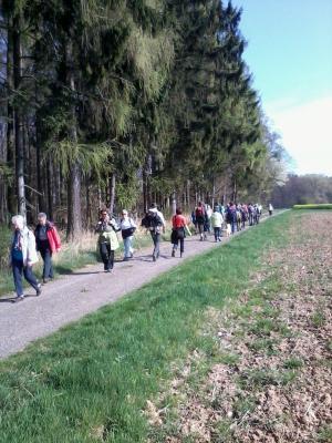 Foto zu Meldung: Wandersaison seit Ostern auf dem 3 KR eröffnet