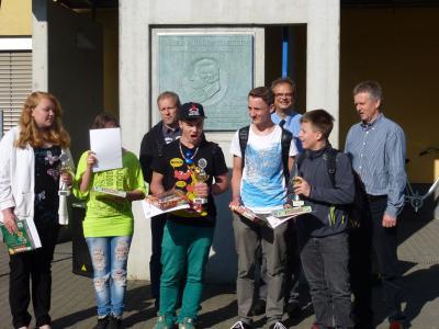 Foto zur Meldung: Siegerehrung Kochstar 2014 an der Oberschule Philipp-Hackert