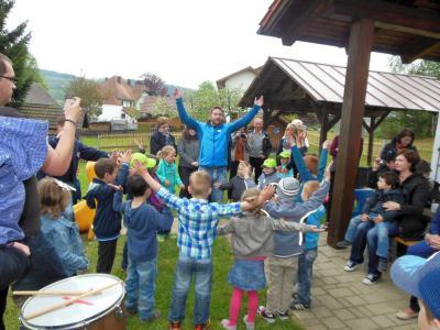 Foto zur Meldung: Aktionstag mit Tag der offenen Tür im Kindergarten