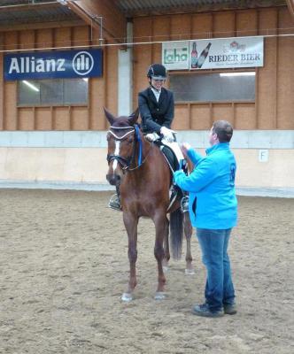 Foto zur Meldung: Eva Berger gewinnt A-Dressur in Waldzell / OÖ