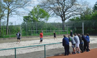 Foto zur Meldung: Sommer, Sand und Beachtennis - TSV Eintracht Eggebek erweitert Angebot