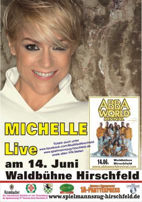 Foto zur Meldung: MICHELLE beim Internationalen Musikfest in Hirschfeld