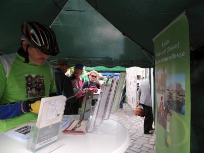 Foto zu Meldung: Die Tour de Prignitz gastierte in Kyritz