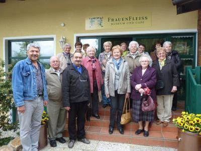 """Foto zur Meldung: Senioren besuchten das Museum """"Frauenfleiß"""""""