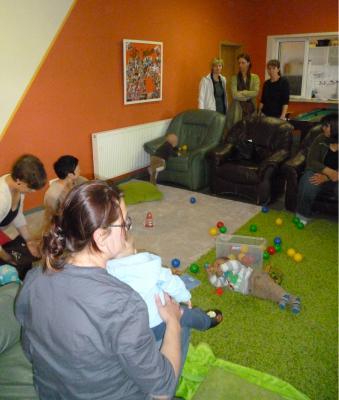 """Foto zur Meldung: Spendenaktion für Krabbelgruppe im """"Faktotum"""""""