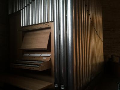 Die Neue Orgel auf der Empore / Foto: Just