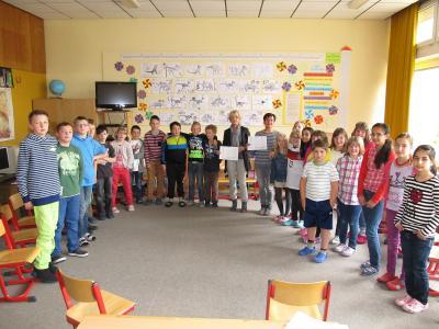 Foto zu Meldung: Ein wertvoller Beitrag zur Gewaltprävention an der Röslauer Grundschule