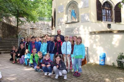 Foto zur Meldung: Kommunionausflug nach Kelheim und Weltenburg