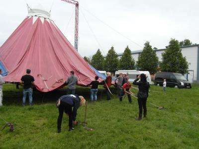 Foto zur Meldung: Unser Zirkusprojekt